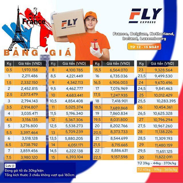 Gửi hàng đi Ireland uy tín chất lượng giá rẻ   FLY EXPRESS