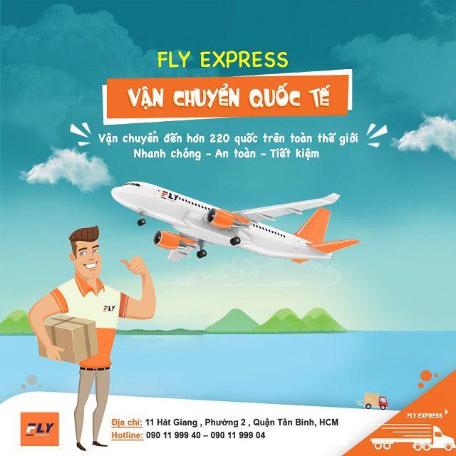 Gửi hàng đi Mỹ tại Đồng Nai uy tín chất lượng   FLYS EXPRESS